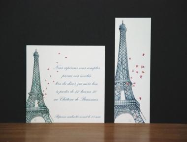 Faire-part Paris
